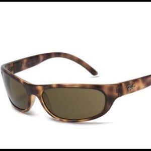 Ray Ban RB 4115 Tortoise Frame Oval Sunglasses